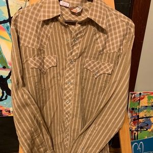 Western HIP Men's snap up Shirt XL